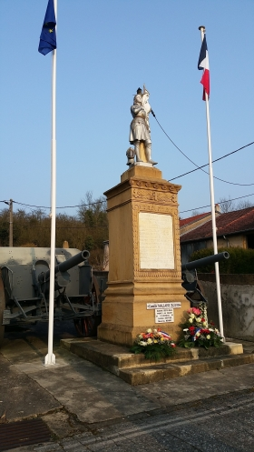 Monument aux morts - Site de la Mairie de Failly